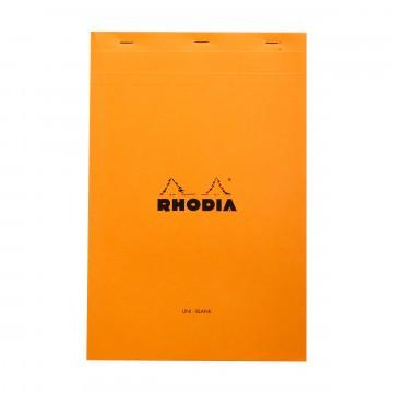Bloc N°19 - Lehtiö:  Rhodia Bloc -lehtiöllä luonnostelut ja kalligrafiatyöt hoituvat mukavasti. Bloc N°19 on hiukan korkeampi kuin...