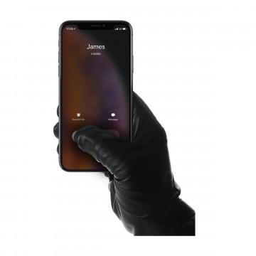 Leather - Kosketusnäyttöhanskat:   Tavalliset nahkahanskat eivät toimi kosketusnäytöllä - nämä hanskat toimivat. Hanskat ovat pehmeitä, lämpimiä ja...