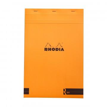 Bloc «R» N°19 - Lehtiö:  Rhodia Bloc «R» -lehtiöissä on samat ominaisuudet ja design kuin normaaleissa Bloc-lehtiöissäkin, mutta varustettu...