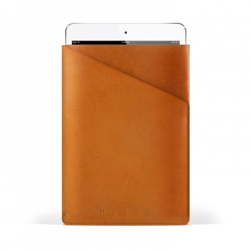 Slim Fit iPad Mini Sleeve:  Cleverly cut out of one single piece of full-grain vegetable-tanned leather, this sleeve creates a slim and secure...