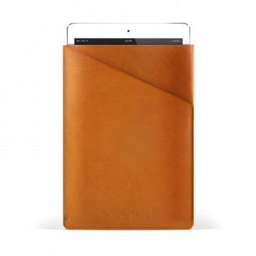 Slim Fit iPad Air Sleeve:  Cleverly cut out of one single piece of full-grain vegetable-tanned leather, this sleeve creates a slim and secure...