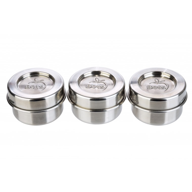 LunchBots  Dips 3-Pack - Mausterasiat