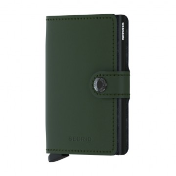 Miniwallet Matte:  Secrid MiniwalletMatte has a smooth matte surface which will withstand the every day hustle.   The Miniwallet is...