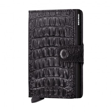 Miniwallet Nile:  Secrid MiniwalletNile has a handmade crocodile texture which is achieved by the special tamponato technique,...