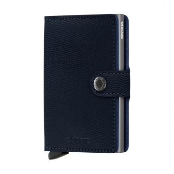 Miniwallet Rango:  Secrid Miniwallet Rango features fine embossed lizard patter, that is deeply coloured and stands the test of time....
