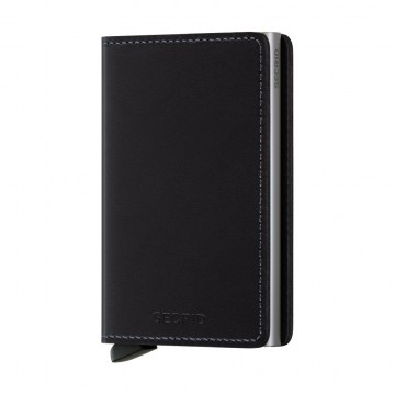 Slimwallet Original:  Secrid Slimwallet Original features smooth leather with a natural glossy finish. A timeless classic that fits your...