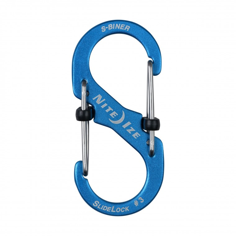 Nite Ize S-Biner® SlideLock® Aluminum - Karabiineri