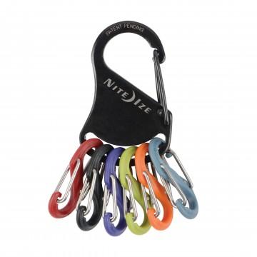 KeyRack™ S-Biner® - Karabiineri:  KeyRack-avaimenperällä saat organisoitua avainnippusi. Ruostumattomasta teräksestä valmistetun karabiinerin toisessa...
