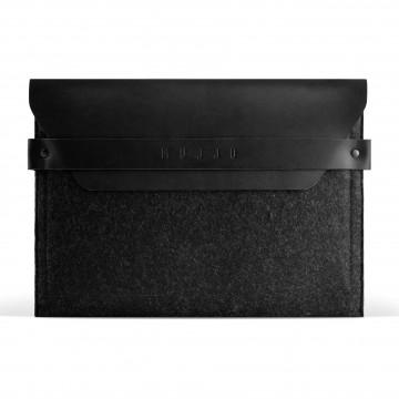 iPad Envelope Sleeve:  Crafted out of a unique combination of felt and vegetable-tanned leather, this sleeve has been designed to fit the...