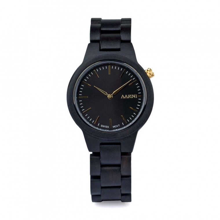 Aarni Vega Ebony Watch