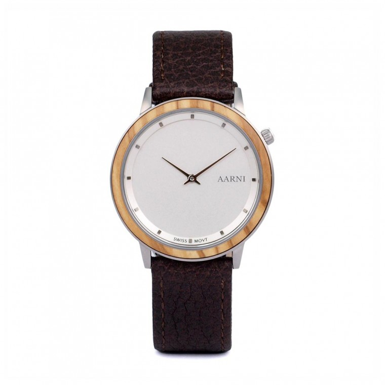 Aarni Loihi Olive Watch