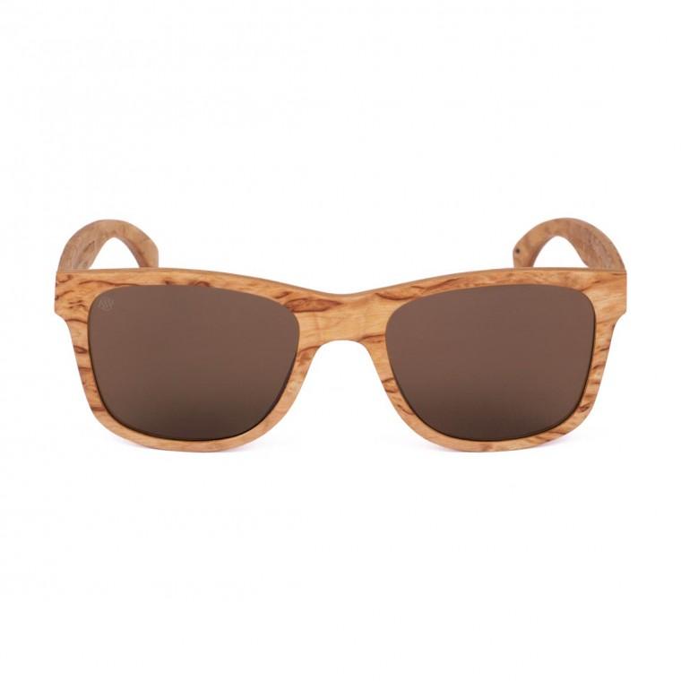 Aarni Blues Curly Birch Sunglasses