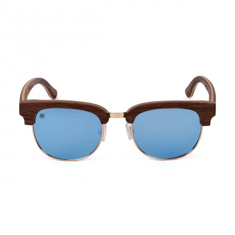 Aarni Master Walnut (Blue) Sunglasses