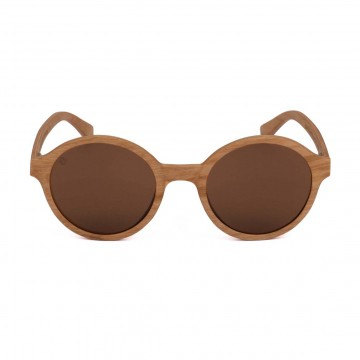 Fulton Alder Sunglasses:  Round lenses in wooden frames is the perfect combination for the sunny summer day. The frames of the Fulton...