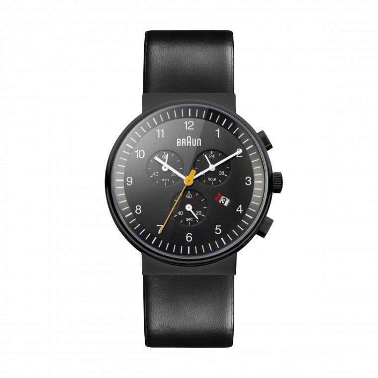 Braun Classic Chronograph BN0035 Black/Black - Rannekello