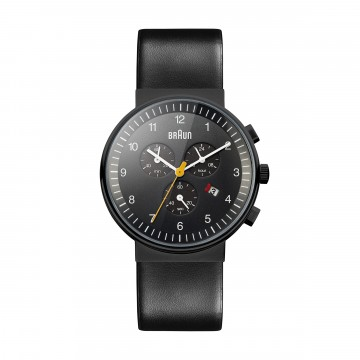 Classic Chronograph Watch BN0035 Black/Black:  BN0035 Chronograph is a great example of clean, modern design that makes a timeless classic. All-black appearance...