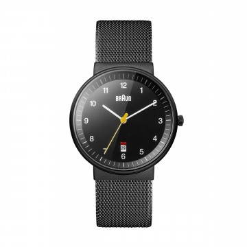 Classic Watch BN0032 Mesh:   Functionality, quality and asthetics make the Braun  BN0032 a reliable everyday watch.  Made to last, this...