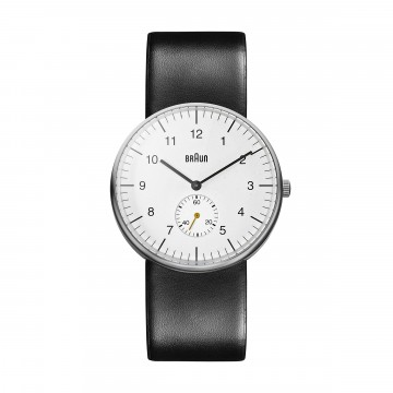 Classic Watch BN0024 Black/White:  The Braun BN0024 watch is very similar to classic BN0021 model, but the big yellow secondhand has been replaced with...