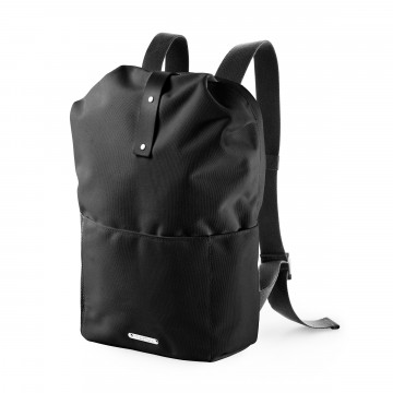 Dalston Knapsack 20LT:  The Dalston Knapsack 20 LT is made from waterproof textile and genuine vegetable-tanned leather. It contains a 15