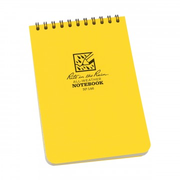 Pocket Top-Spiral 4×6 Notebook:  The 4×6 Top-Spiral Notebook is compact enough to carry along and tough enough to survive anything the day throws at...