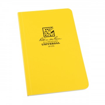 Field-Flex Bound Book:   Field-Flex is the most flexible cover material in a Rite in the Rain notebook. It'stough enough to withstand the...