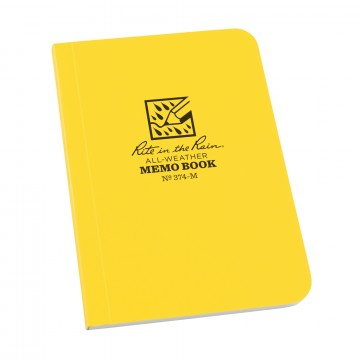 Field-Flex Memo Book:   These handy pocket-sized Field-Flex memo books are great in tight spots but still large enough to take all your...