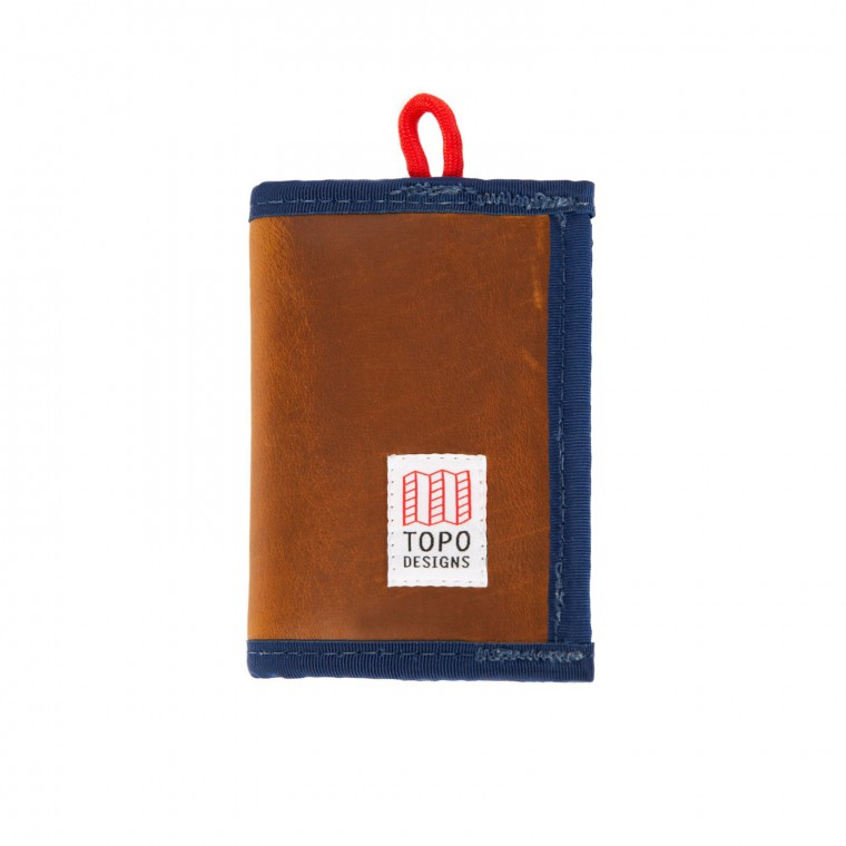 Topo Designs Leather Wallet