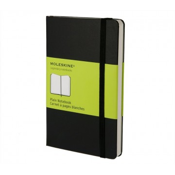 Classic Pocket Notebook:  True classic and one of the best selling Moleskine notebooks: 192 page pocket notebook that is easy to carry on...