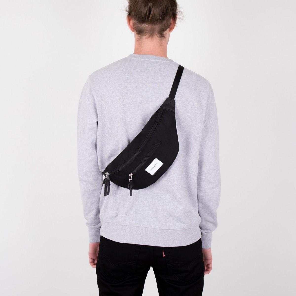 c873f55e0012 ... Sandqvist Aste Bum Bag Black ...