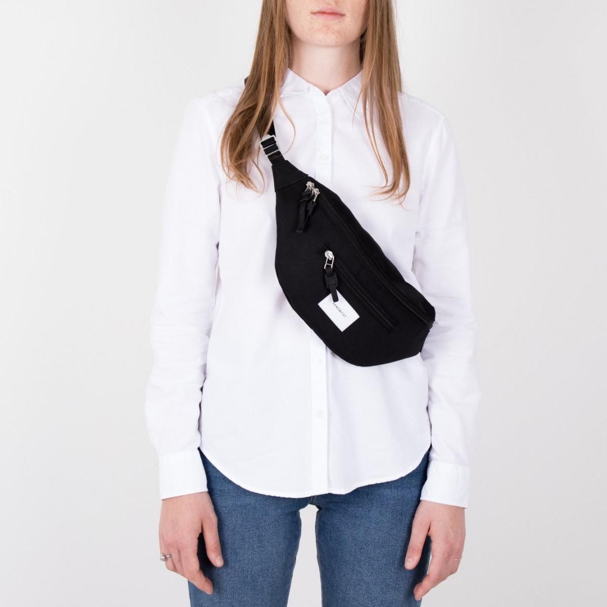 02315efc1434 ... Sandqvist Aste Bum Bag Black