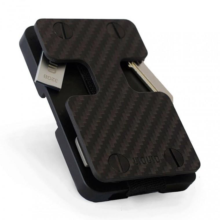 Liquid Wallet Carbon Fiber - Lompakko