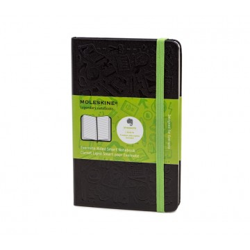 Evernote Smart Pocket Notebook:  Evernote Smart by Moleskine is the first notebook designed specifically for creating a digital version from...