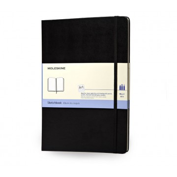 Art Plus Large Sketchbook:  Moleskine Art Plus Sketchbook -is made with high quality heavy (160g/m 2 ) paper, especially suitable for drawing...