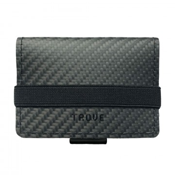 Cash Wrap Carbon Fibre:  The Cash Wrap holds a lot while staying compact. You can organise up to ten cards in different compartments and toss...