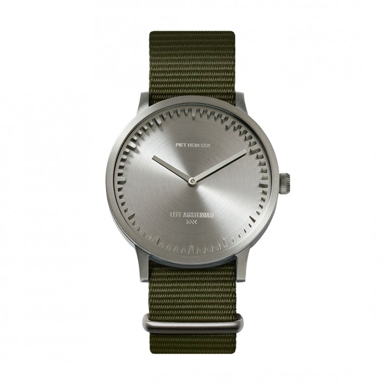 Leff Amsterdam Tube Watch T40 Steel / Nato