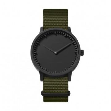 Tube Watch T40 Black / Nato: