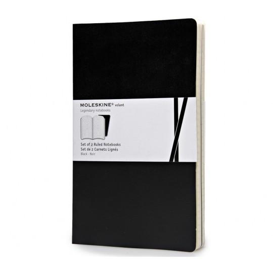 Volant Large 2-Pack - Muistivihko:  Moleskine Volant on kevyt ja joustava pehmeäkantinen muistivihko, jota on helppo kantaa mukana joka päivä. 16...