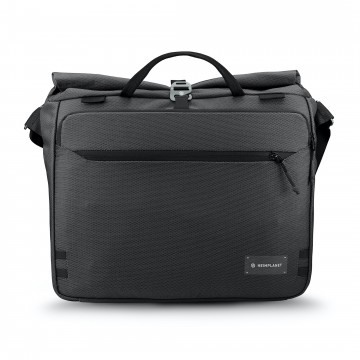 Transit Line Roll Top Messenger Bag:  The Transit Line Roll Top bag is both a subtle work briefcase and a modern messenger. It comes with an adjustable...