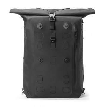 WPRT Modular Pack:  The WPRT is a minimal utilitarian roll-top pack made for urban lifestyles. The clean modern aesthetic and premium...