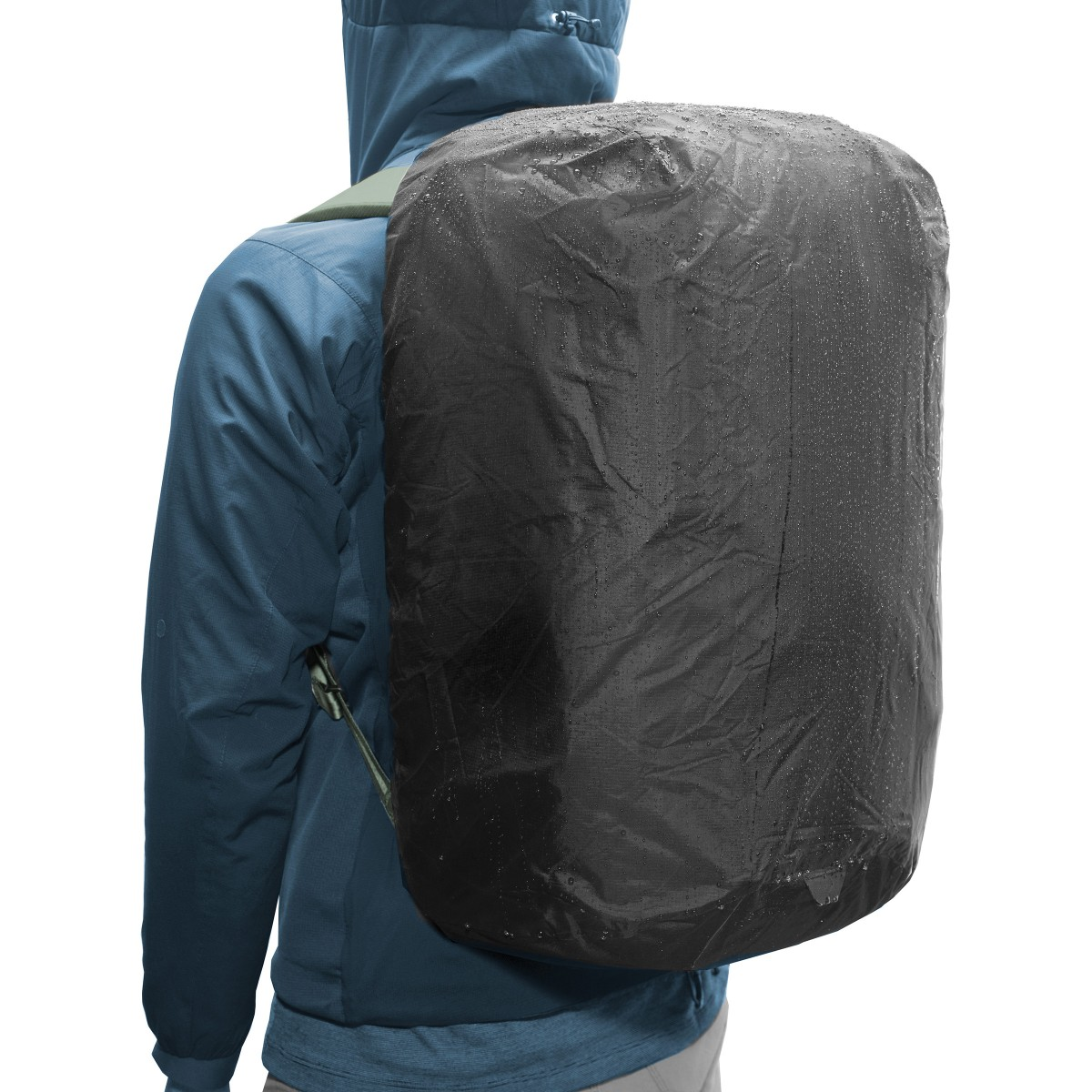 All Weather Cover for the 45L Travel Backpack Peak Design Rain Fly Black