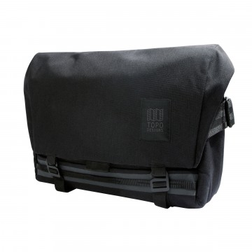Messenger Bag:  The Topo Designs Messenger Bag is built to be tough.  It features a water resistant truck tarp liner, waterproof YKK...