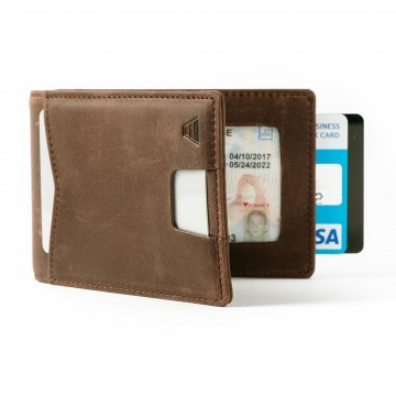 The Apollo Wallet:  The Apollo wallet allows easy and quick access to your everyday cards. The money clip holds several bills and five...