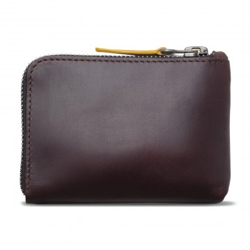 Osaka Wallet:  Osaka is versatile and multifunctional leather zip wallet. The cardholder is sewn inside and is cabable to store 10+...