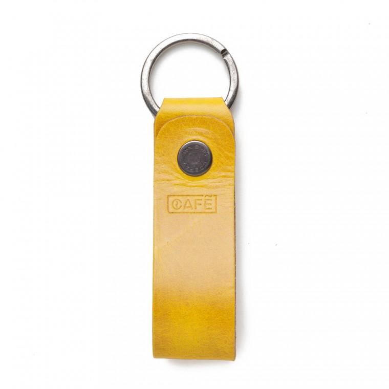 Café Leather Key Chain - Avaimenperä