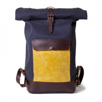 Libérica Roll-Top Rucksack:  Libérica is manufactured in a traditional way but adapted to the necessities of modern day. It's handcrafted from...