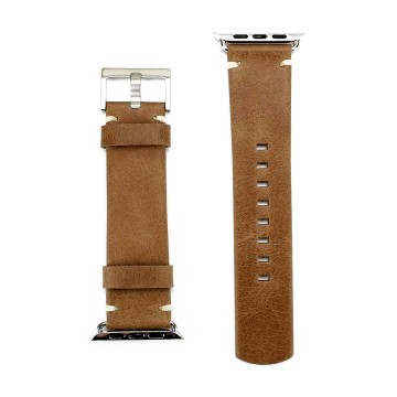 The Watch Band - Ranneke:  Full-grain -nahasta valmistettu Andar-ranneke tuo Apple Watch -kelloosi klassisen lookin ja tuntuman. Siihen...