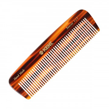 12T Pocket Comb:  12Tis a handmade146 mmall coarse pocket comb, made from large sheets of cellulose acetate, instead of being...