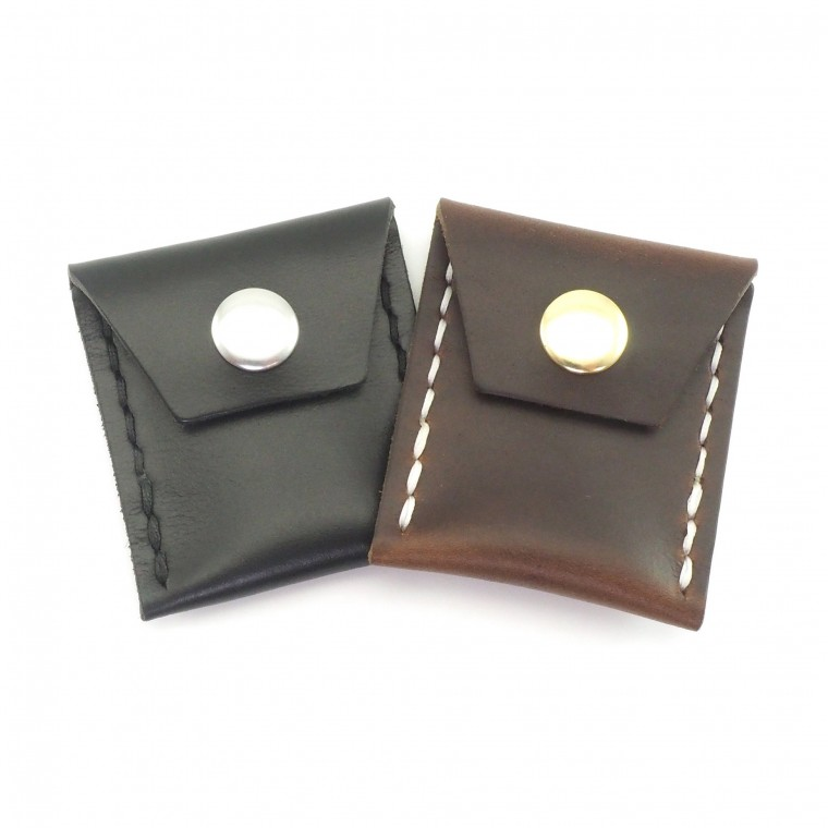 Scout Leather Coin Case - Kolikkotasku