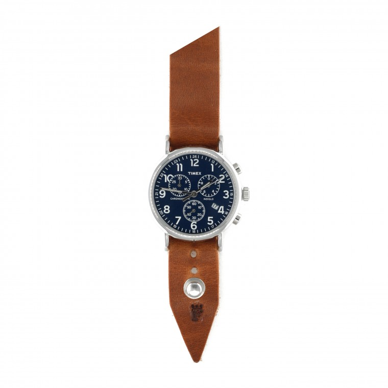 Form•Function•Form FFF × Timex Weekender Chronograph 40 Cobalt - Rannekello