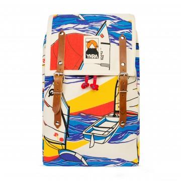 Matra Mini Cotton - Reppu:  Tämä klassinen Ykra -patikkareppu on valmistettu vahvasta puuvillakankaasta. Repun design on saanut inspiraationsa...